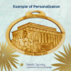Personalized Lincoln Memorial Ornament