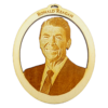 Personalized President Ronald Reagan Ornament
