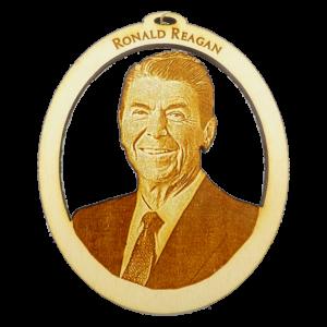 Personalized President Ronald Reagan Ornament