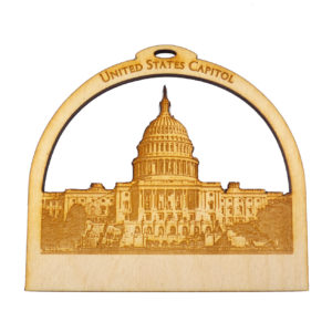 Personalized US Capitol Building Souvenir