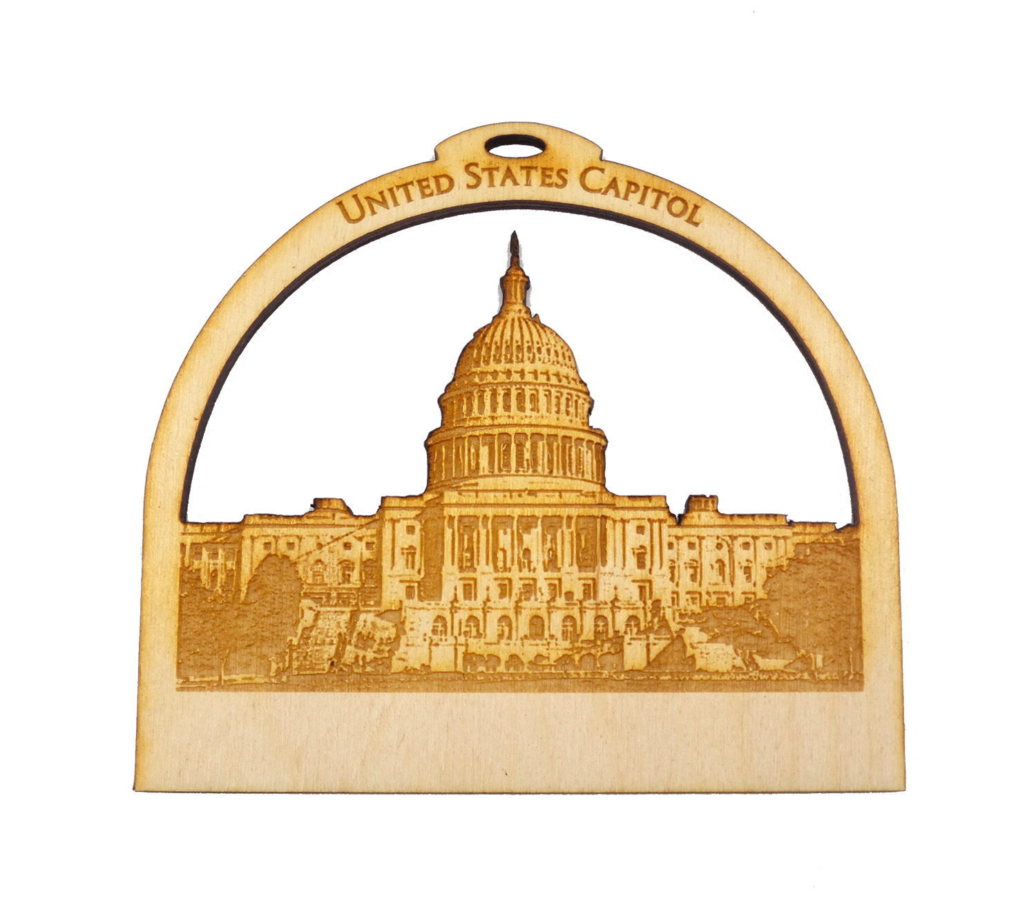 Personalized US Capitol Building Ornament