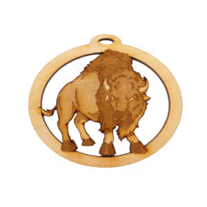 Personalized Buffalo Ornament