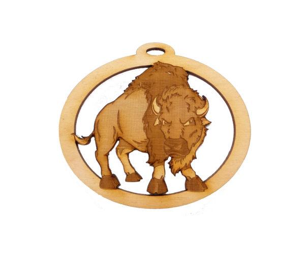 Personalized Buffalo Ornament