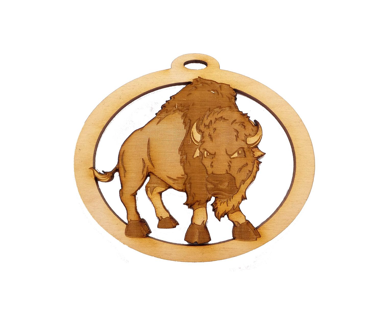 Personalized Buffalo Souvenir
