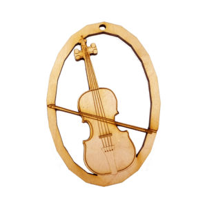 Personalized Cello Ornament