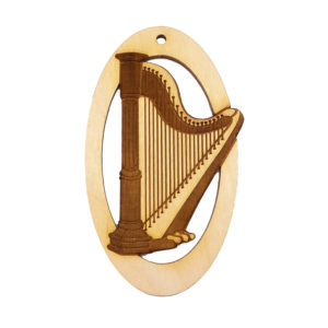 Personalized Harpist Gift