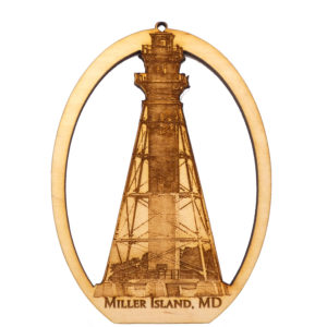 Miller Island Lighthouse Souvenir