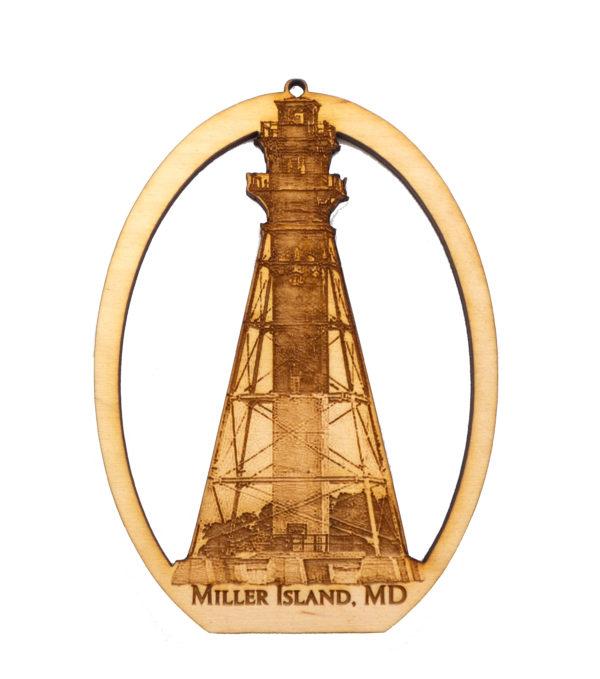 Miller Island Lighthouse Souvenir