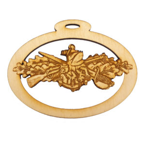 Personalized Navy Seabee Warfare Gift