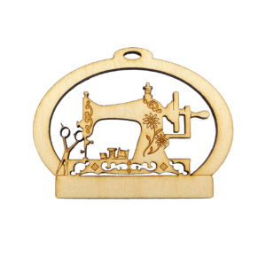 Classic Sewing Machine Ornament
