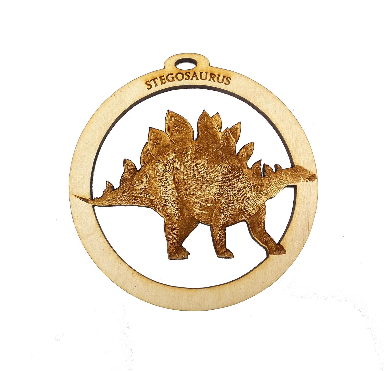 Personalized Stegosaurus Ornament