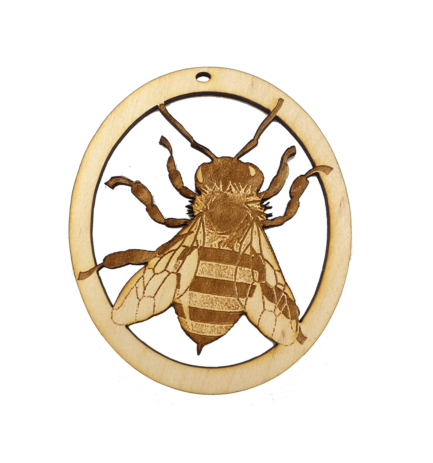 Personalized Bee Ornament