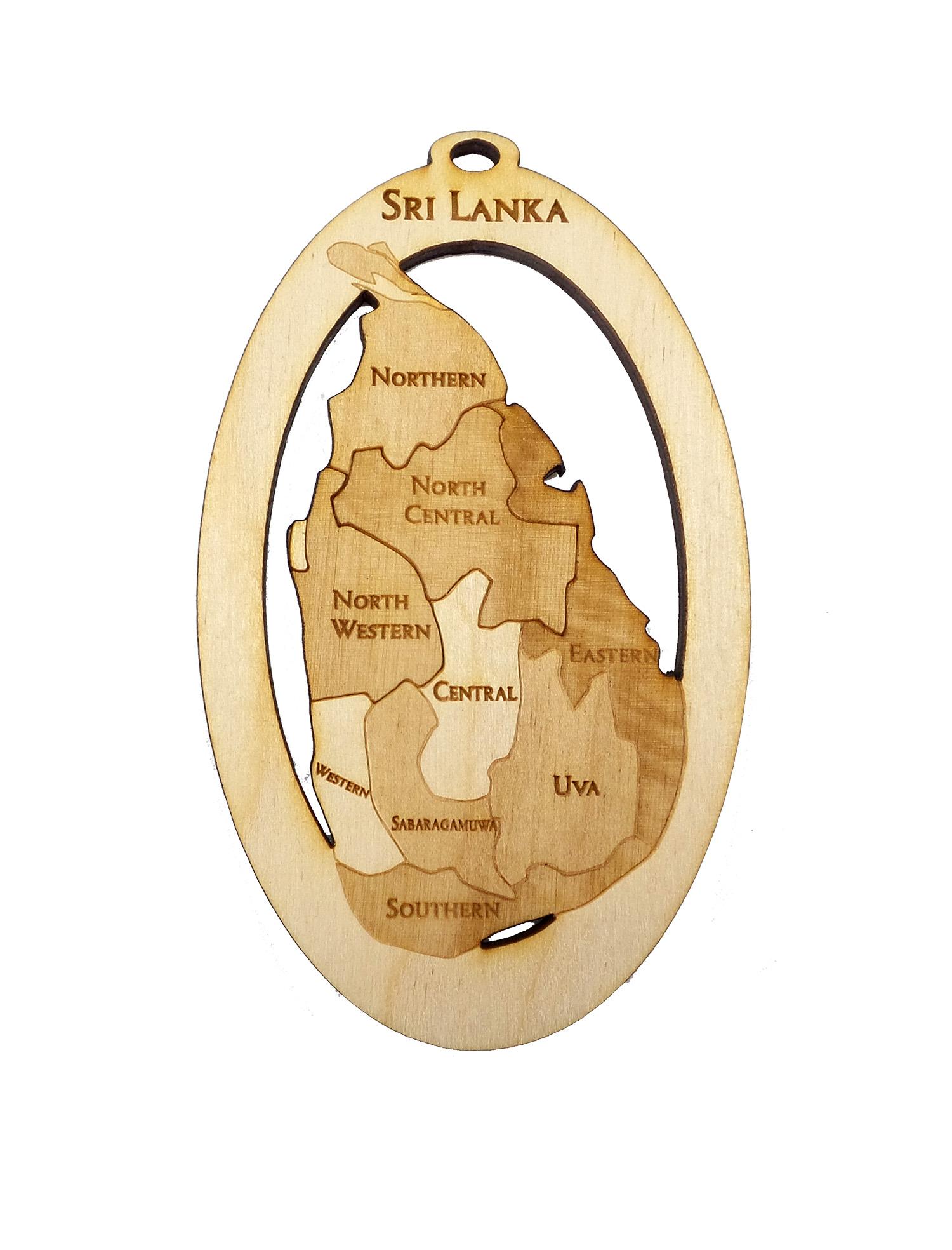 Sri Lanka Ornament