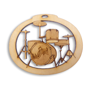 Personalized Drum Set Ornament