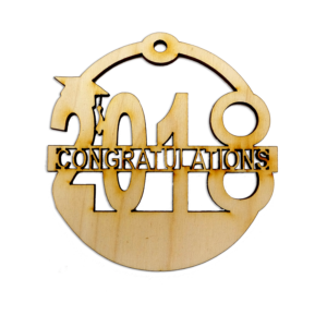 Personalized Graduation 2018 Ornament