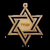 Personalized Hanukkah Decoration
