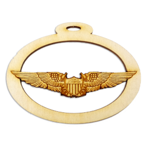 Navy Aviator Wings Ornament
