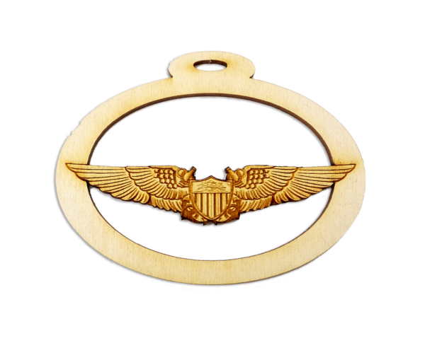 Personalized US Naval Flight Officer Ornament