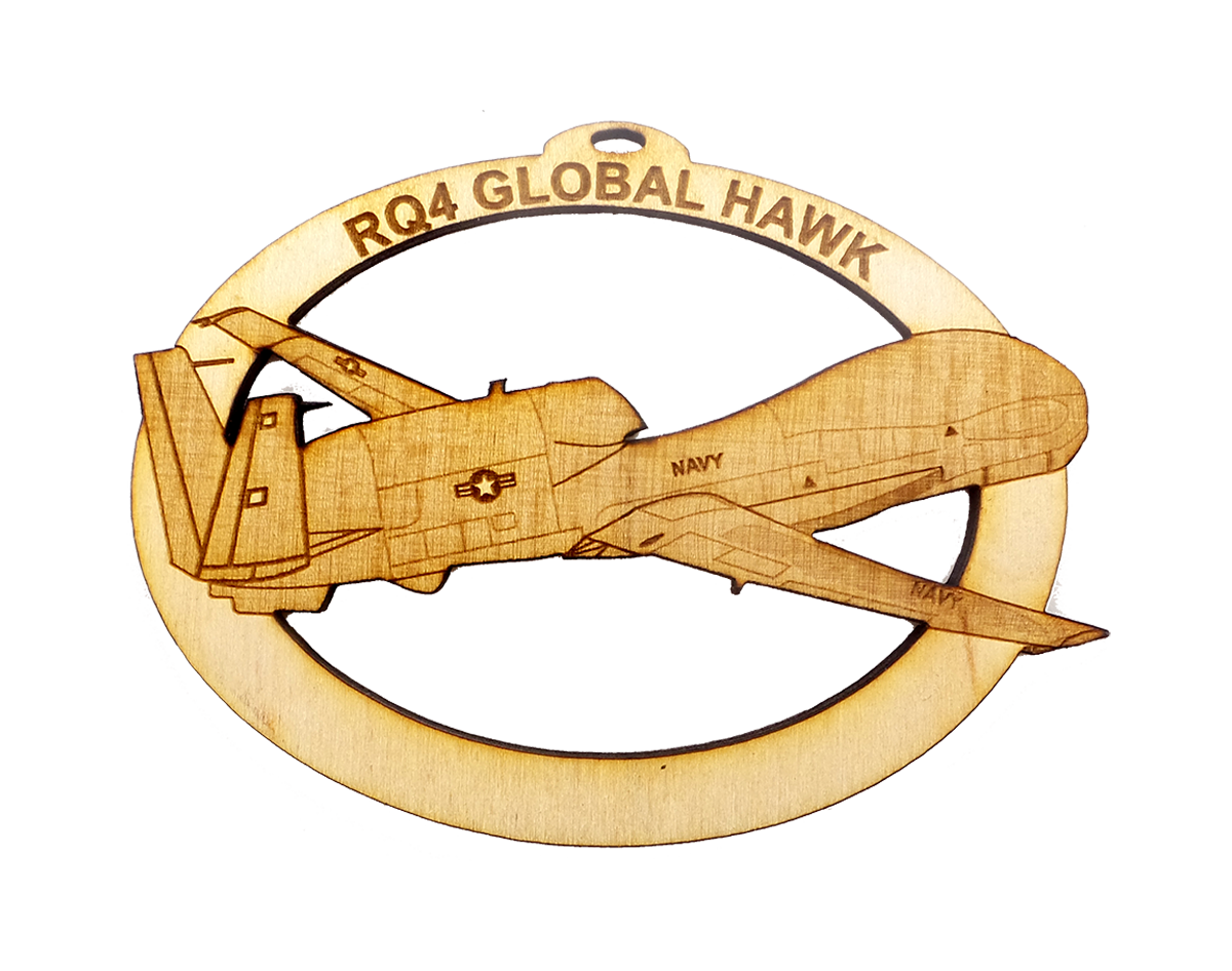 US Navy RQ-4 Global Hawk Ornament