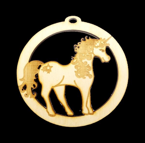 Personalized Cute Unicorn Ornament