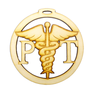 Personalized Physical Therapist Ornament