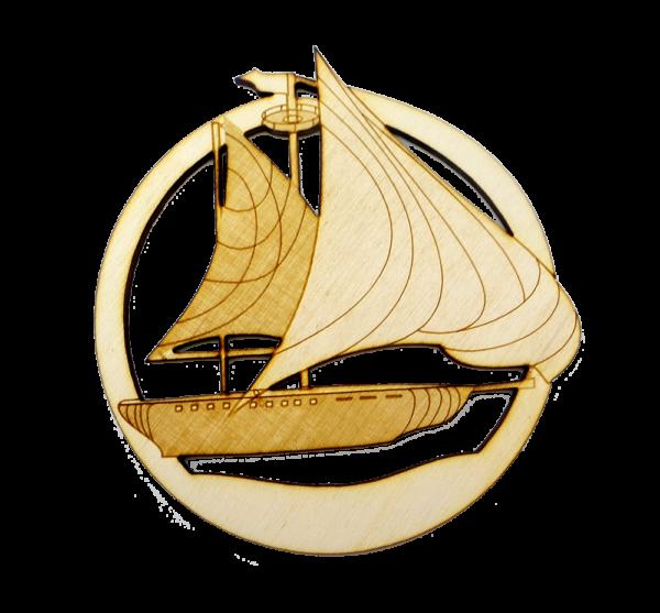 Personalized Sailboat Ornament