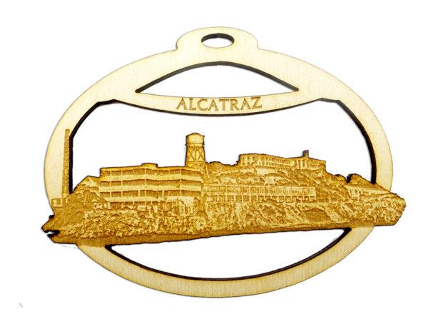 Personalized Alcatraz Ornament