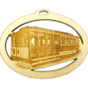 Personalized Cable Car Ornament