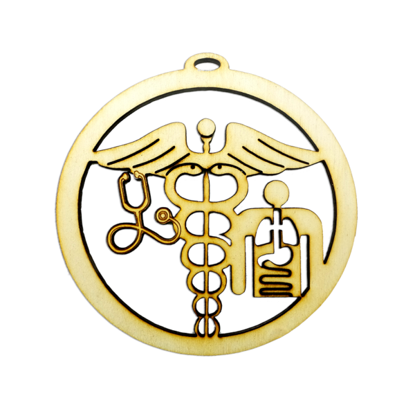 Personalized Doctor Ornament