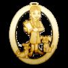 Personalized Female Vet Tech Ornament