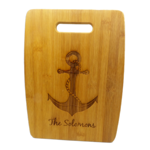 Monogrammed Cutting Boards| Personalized Bamboo Cutting Board, Medium