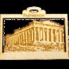 Personalized Parthenon Ornament - Greece Souvenir