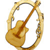 Personalized Acoustic Guitar Ornament