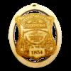 Boston Police Badge Ornament