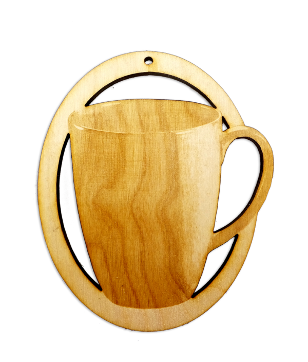 Personalized Coffee Cup Ornament