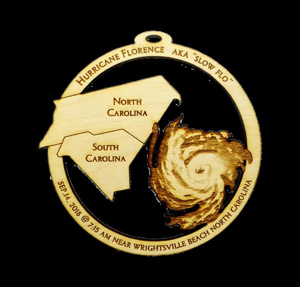 Hurricane Florence Ornament