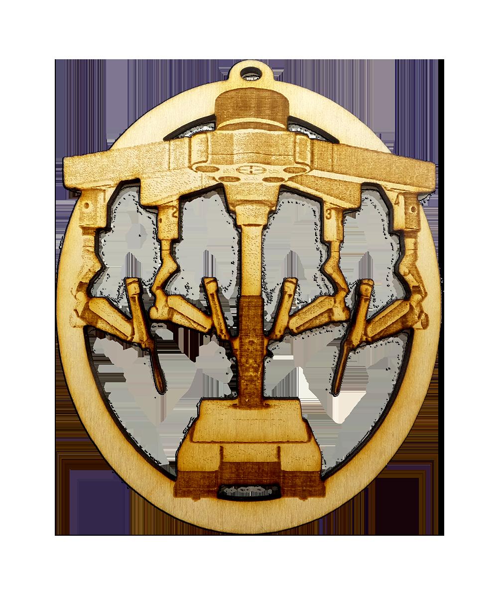 Personalized Robotic Surgery Arm Ornament