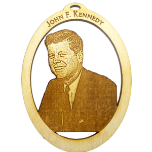 President John F Kennedy Ornament