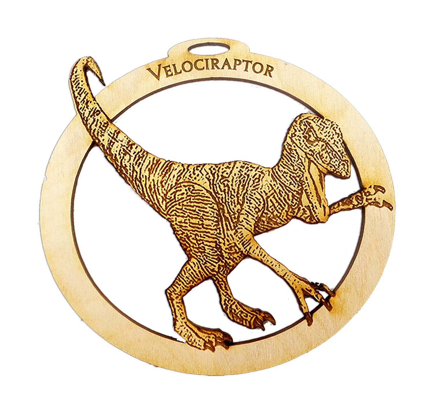 Velociraptor Ornament
