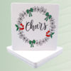 Christmas Cheers Coasters Set
