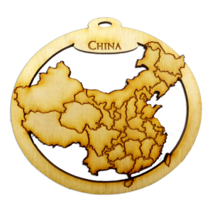 Personalized China Ornament