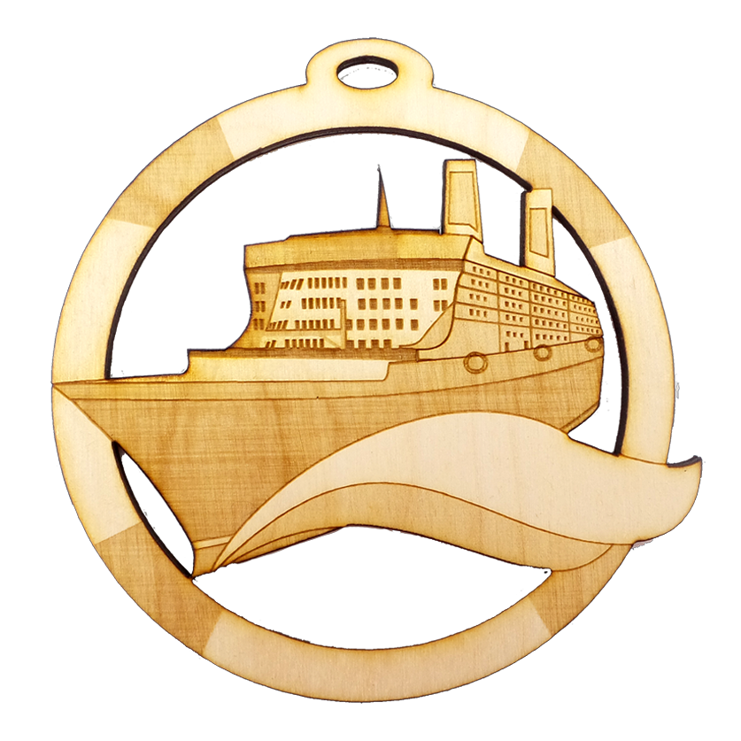 Personalized Cruise Ship Ornament