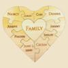11PC Heart Unity Puzzle
