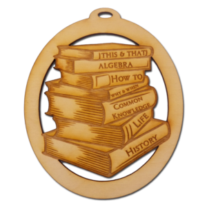 Book Lover Ornament