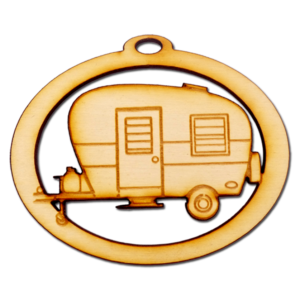 Personalized Camper Ornament