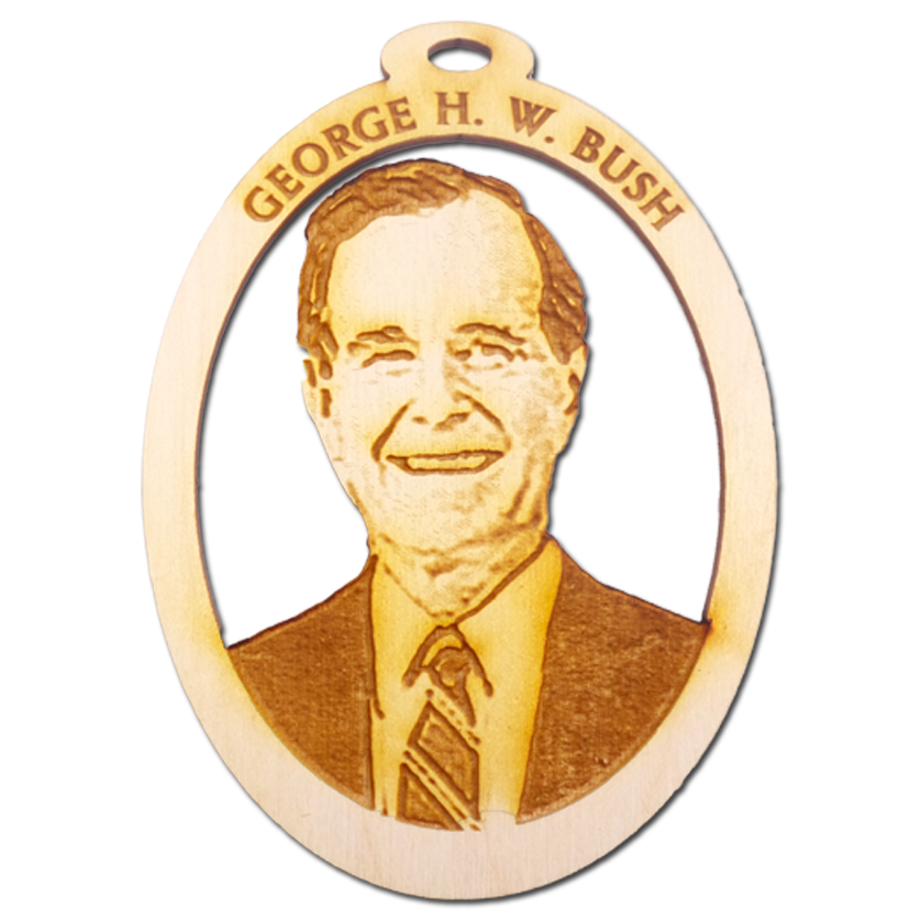 President George HW Bush Ornament