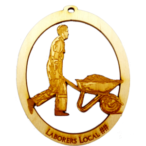 Laborers Union Ornament