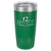Personalized 20oz Green Insulated Tumbler