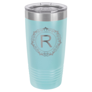 Personalized 20oz Lt Blue Insulated Tumbler