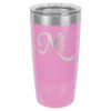 Personalized 20oz Lt Purple Insulated Tumbler